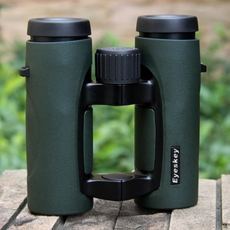 New 10x32 Binocular HD High-power Wide Angle Hollow Pocket Portable Telescope Low Light Night Vision Telescopes Bak4 Prism цена