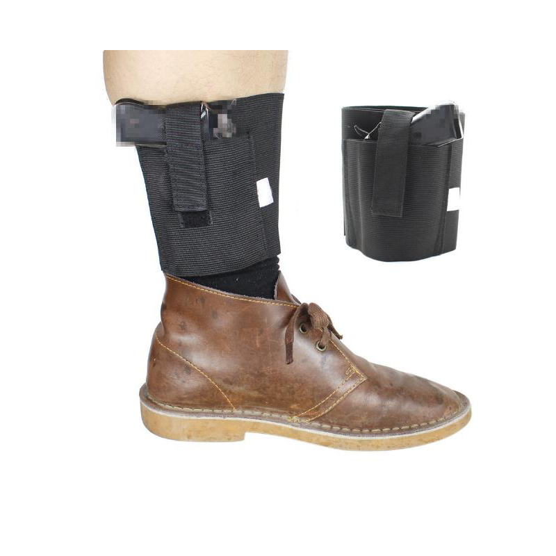 Ankle Holster Outdoor Tactical Black Invisible Leg Holster Hunting Special Pistol Sleeve Elastic Gun Bag Accessories
