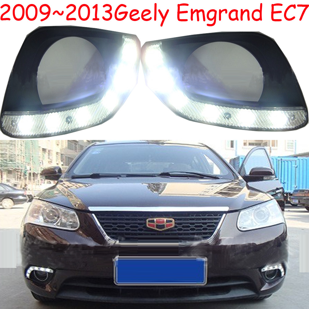 LED,2009~2013 Geely Emgrand EC7 day Light,EC7 fog light,1pcs/set,EC7 headlight;EC7 Taillight,EC8,EC715,EC718 geely emgrand ec8 headlight 2011 2015 fit for lhd free ship emgrand ec8 fog light 2ps set 2pcs aozoom ballast ec 8 emgrand ec7