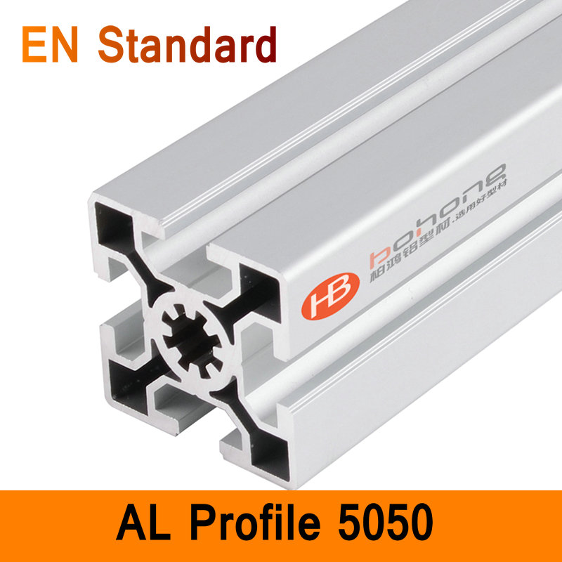 5050 Aluminium Profile EN Standard DIY Brackets Aluminium AL Extrusion CNC 3D DIY Printer Parts Aluminum Square Pipe T Type aluminium cnc machining rapid prototyping aluminum parts processing page 5