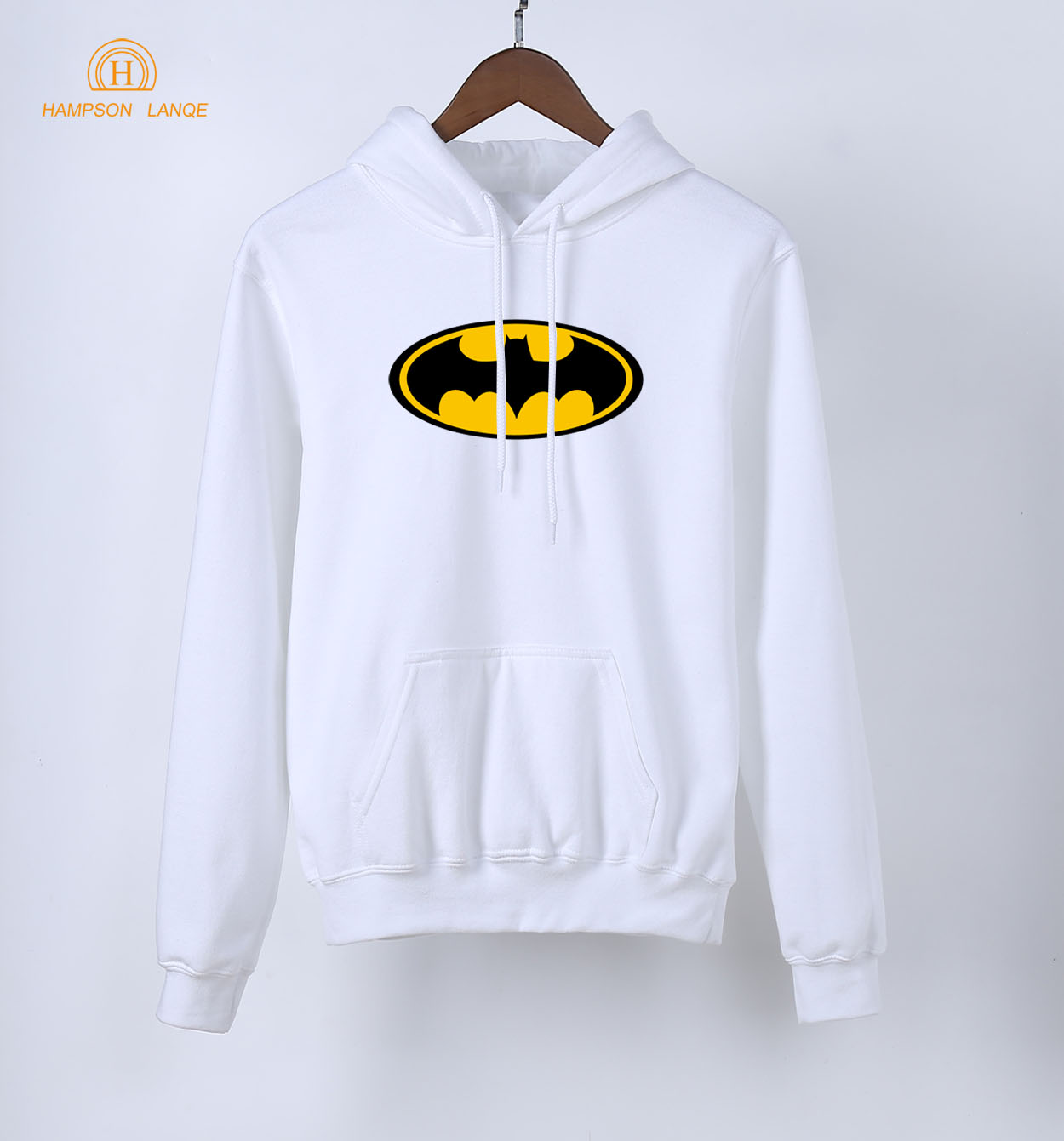 Batman Superman Hot Sale Female Hoodies 2019 Spring Autumn White Sweatshirt Women Warm Fleece Tracksuit Black Gray Pink Red Blue