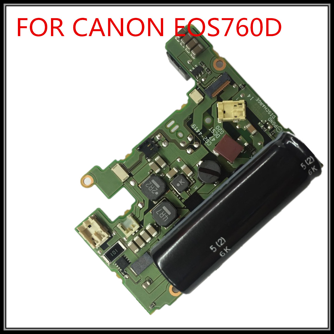 DC power charge board / PCB repair parts for Canon EOS 750D 760D, - Kamera og bilde - Bilde 1