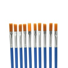 Painting-Brush-Set Nylon-Hair Art-Supplies Watercolor Pointed-Tip Gouache Round 10pcs/Set