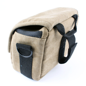 Image 2 - Canvas Camera Bag Case Cover For Sony Alpha A7 Mark II S R A77 A7III A6500 A6300 A6000 A5100 NEX6 H400 HX400 HX300