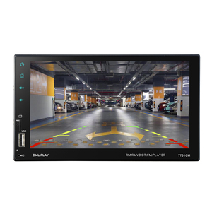 Image 2 - HEVXM 7701 2 Din Touch Screen Car MP5 Player  Universal Auto Radio Stereo Car Audio Video Multimedia Player  Mirror link