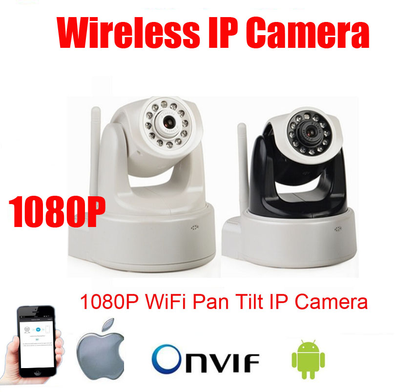 P2P 1080P Megapixel HD Wireless/WiFi Pan Tilt IP Camera Baby Monitor Home Use Nanny Camera Support Video Record & Mobile Phone howell wireless security hd 960p wifi ip camera p2p pan tilt motion detection video baby monitor 2 way audio and ir night vision