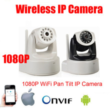 P2P 1080P Megapixel HD Wireless/WiFi Pan Tilt IP Camera Baby Monitor Home Use Nanny Camera Support Video Record & Mobile Phone