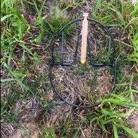 Diametro di 200mm 7.9 pollice sparrow trappole Hawk trappole tordo bobolink silvia flycatcher chickadee cardellino trappole con il prezzo basso