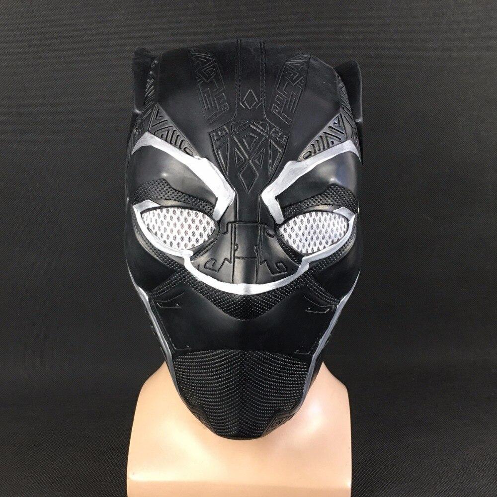 Schwarz Panther Masken Captain America Bürgerkrieg Rollen Cosplay ...