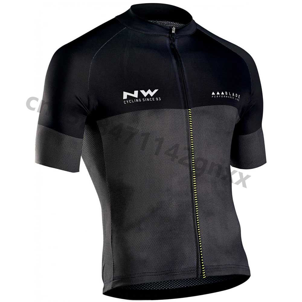2019 New NW Northwave Summer Racing Bike Clothing Pro team cycling jersey short sleeve Breathable cycling clothing Ropa Ciclismo in Cycling Jerseys from Sports Entertainment