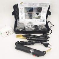 Professional Car Bumper Repair Machine Plastic Repair Kit ABS PVC Welding Machine 110 240V Hot Stapler