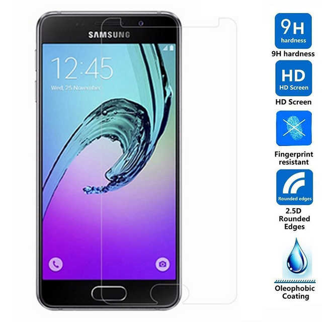 For Samsung Galaxy A3 2017 Tempered Glass 9H High Quality Protective Film Explosion-proof LCD Screen Protector For SM-A320 A320F