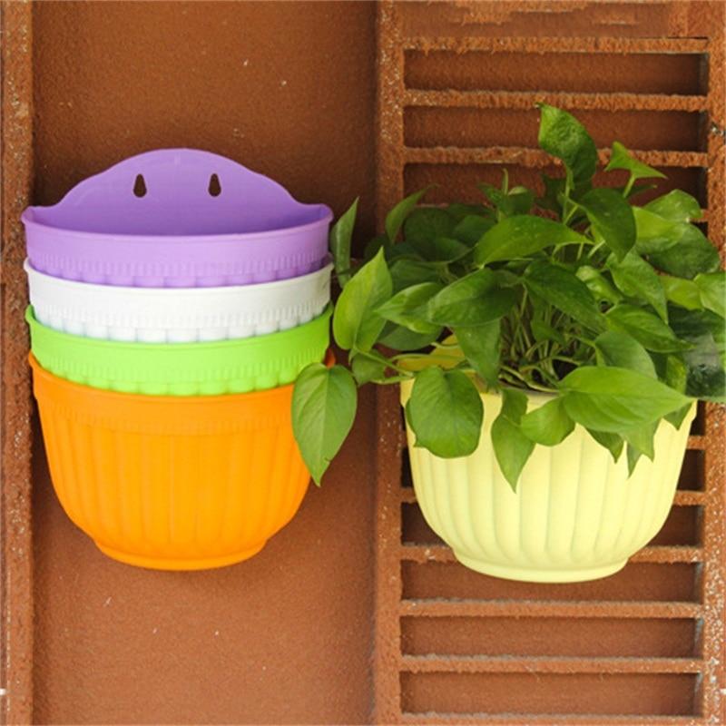Wall Hanging Baskets online get cheap plastic flower pots wall hanging -aliexpress