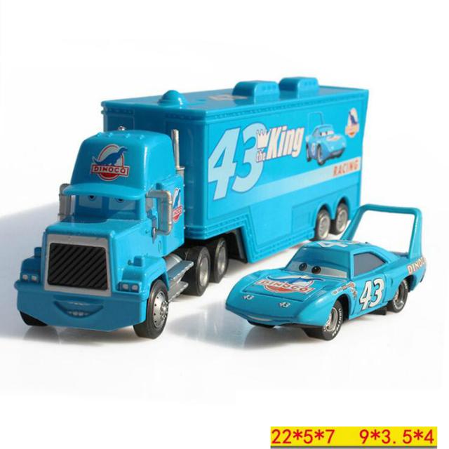 Disney Pixar Cars Mc Queen Metal Pixar Cars Truck McQueenes