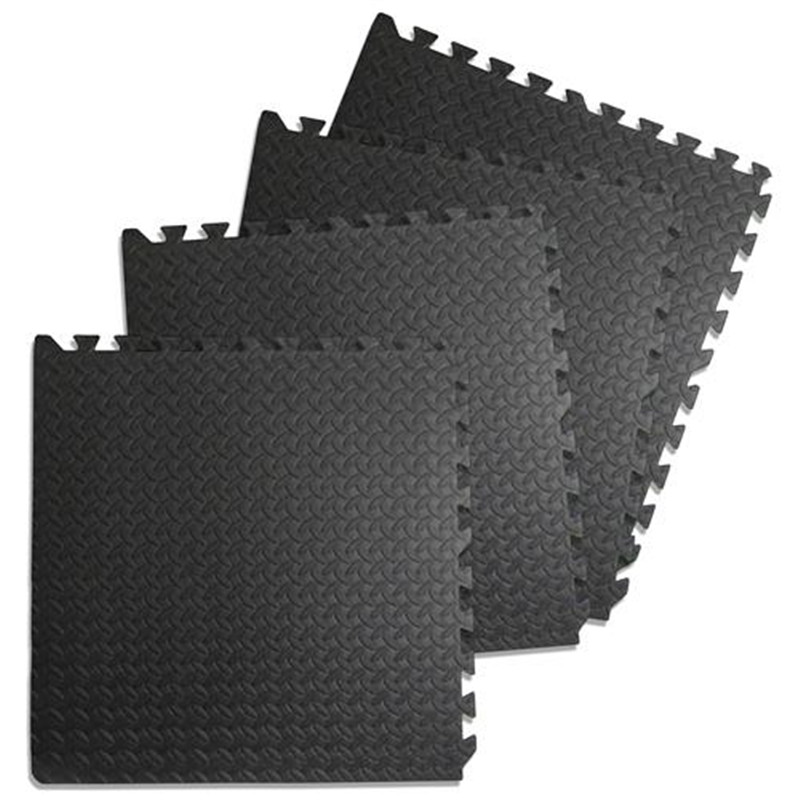 6Pcs/set Foam Puzzle Yoga Mat Interlocking 63*63cm EVA Foam Tiles Puzzle Exercise Mat Fi ...