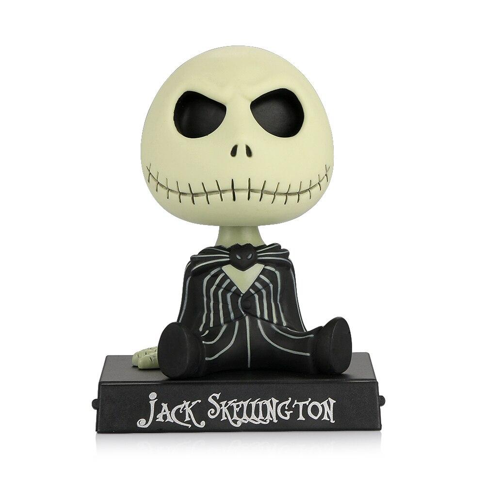Aliexpress.com : Buy Car Ornaments PVC Jack Skeleton Action Figure ...