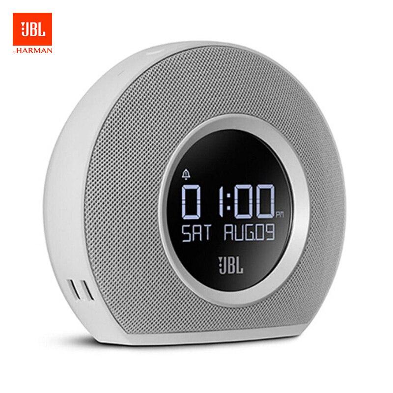 JBL Horizon Bluetooth haut-parleur sans fil Radio réveil avec USB charge LED lumière ambiante incroyable stéréo son haut-parleur blanc