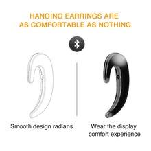 цена на Wireless Bluetooth Headset Cloud Conduction Ear Hook Earphones with Call Mic Handsfree Intelligent Stereo Headphone Headset
