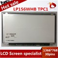 """Alta calidad A Estrenar A + 15.6 """"Pantalla LCD delgado LP156WHB TPC1 pantalla lcd portátil"""