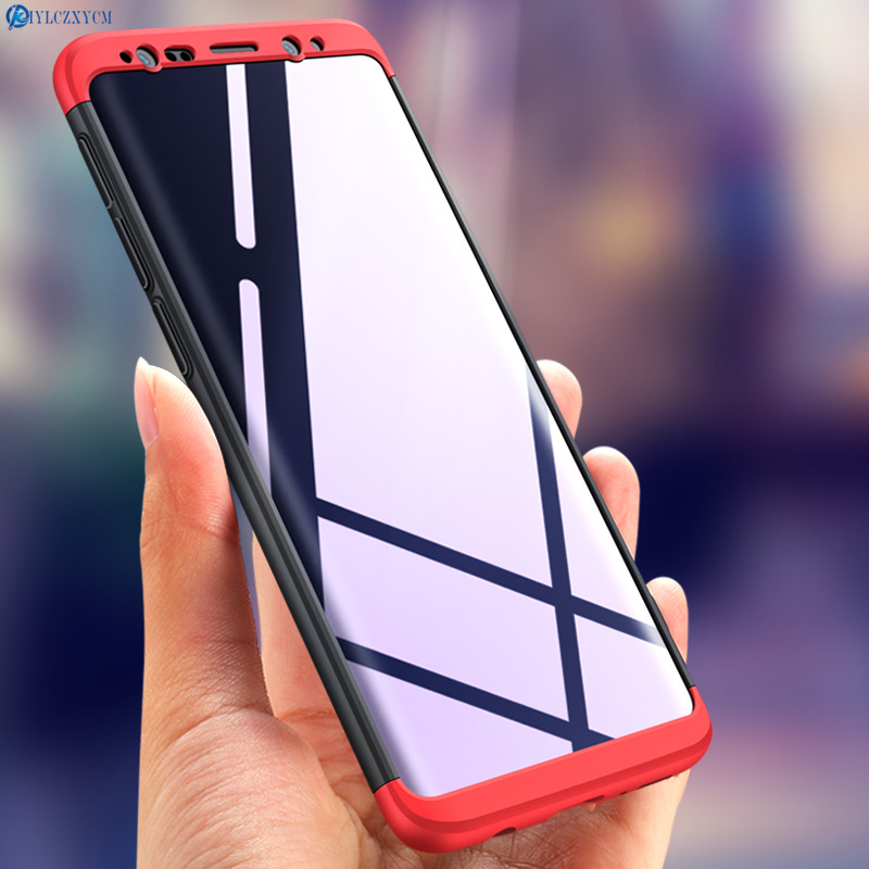 KIYLCZXYCM For Samsung Galaxy S9 Case S9 plus cover 360 Full Protection+Ultra Thin Cover on For Samsung S9 S 9 plus Phone Case