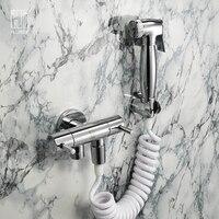 HIDEEP Brass Toilet Bidets for Toilets Device Portable Shower Handheld Faucets Bidet Seat WC Bidets Bidets Shower Spray