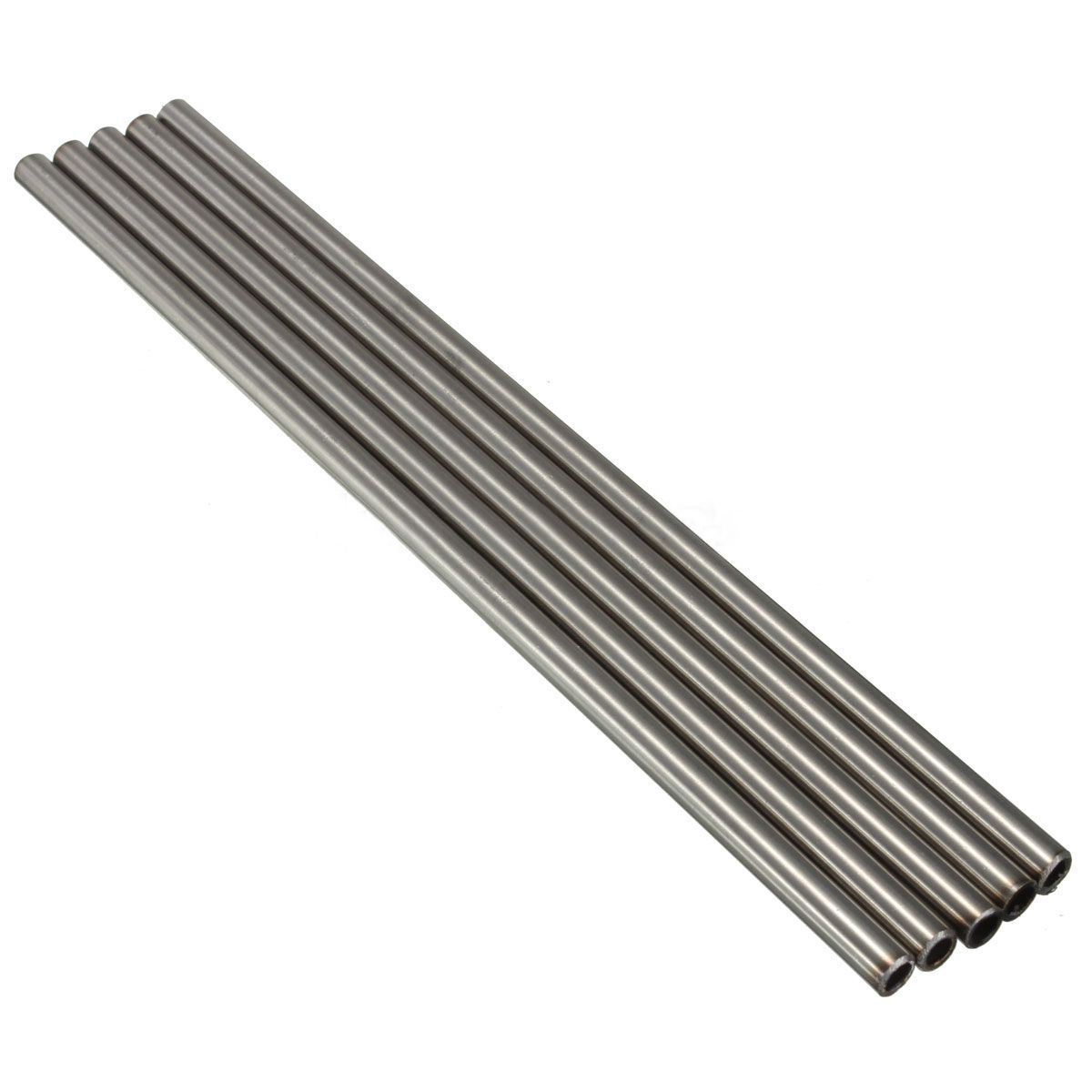 1pc/2pcs Silver 304 Stainless Steel Capillary Tube Corrosion Resistant Rod Pipe Tool OD 8mm 6mm ID Length 250mm Mayitr 5pcs 304 stainless seamless steel capillary tube od 5mm x 3mm id length 250mm polished surface rust protection popular