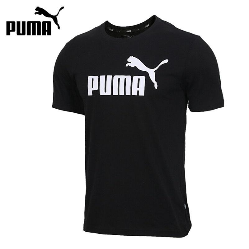 Original New Arrival 2019 PUMA ESS Logo Tee Men's T-shirts short sleeve Sportswear