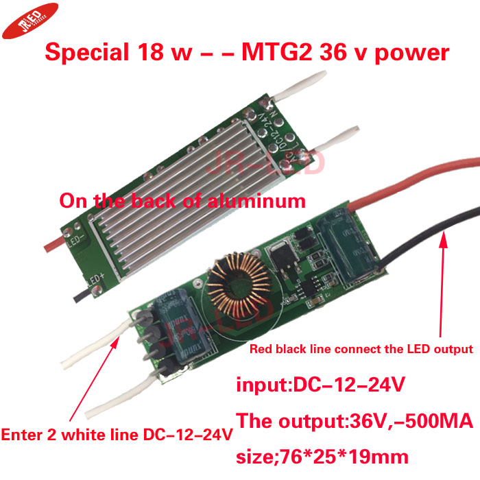 Yeniləmə 1PCS Cree XLamp MTG-2 MTG2 18W 36V 36 v işıqlar Neytral - LED işıqlandırma - Fotoqrafiya 2
