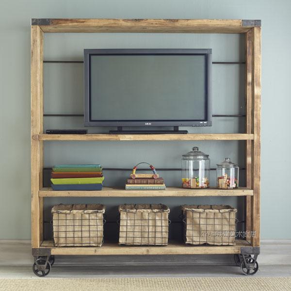 Superbe Industrial Shelving Shelves After Shelves Vintage Wrought Iron Rivets  Custom Wood Panels American Furniture Factory Shipments