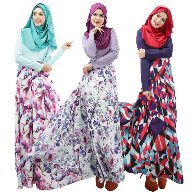 Floral long dress online malaysia