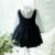 Muchachas de los niños del Estilo Preppy de Algodón Cabritos Del Vestido de la Rodilla-Longitud de Manga Larga Estilo coreano Vestido de 2016 Nuevo vestido de Bola del Vestido Para El Bebé chica
