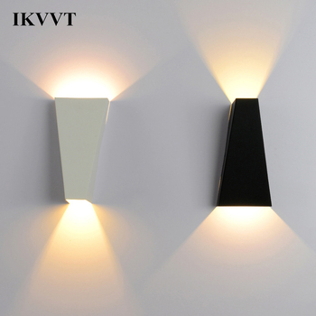 IKVVT Modern Simple Wall Lamp Creative Bedside Wall Light Stairway Corridor Lighting Bedroom Reading Lamp Light Fixtures