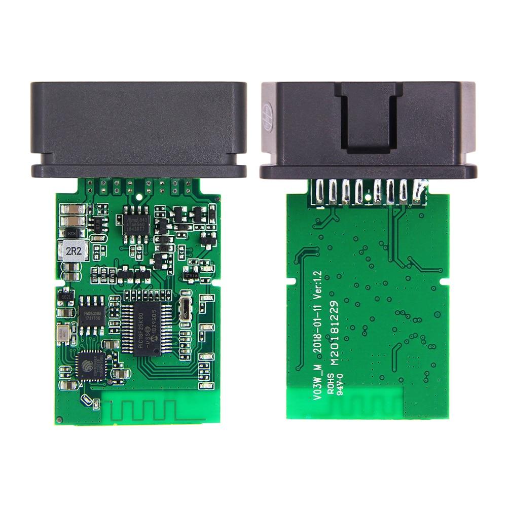HTB1SrPgabr1gK0jSZFDq6z9yVXau ELM327 V1.5 PIC18F25K80 OBD2 WIFI Scanner ELM327 WI-FI OBDII elm 327 V1.5 OBD 2 OBD2 Car Diagnostic Auto Tool ODB2 Code Reader