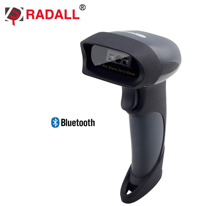 Беспроводной Bluetooth CCD сканер штрих-кода Reader Поддержка для IOS Android Оконные рамы rd-m7