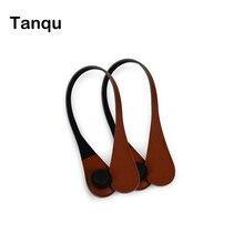 Tanqu Новые короткие дополнительный тонкий Сменные Teardrop ручки Искусственная Кожа ручки для obag для eva o сумка Для тела
