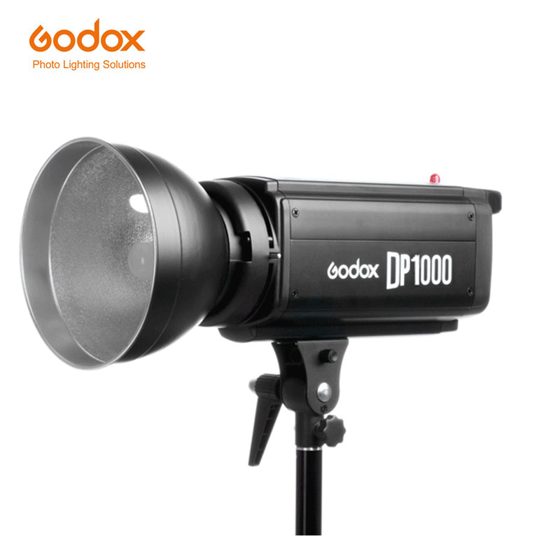 где купить Godox DP1000 Flash Light Studio Strobe 1000Ws GN92 5600K Pro Photography Lighting Flashlight for wedding photog 110V/220V по лучшей цене
