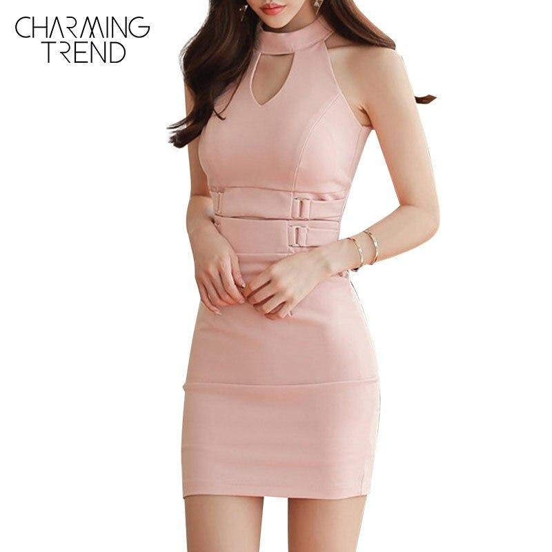 Online Get Cheap Llanura De Color Rosa Mini Vestido -Aliexpress.com ...