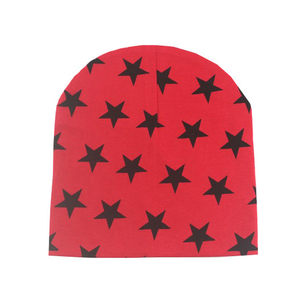 WomensDate 1Pcs Winter Autumn Red Crochet Hat Girl Boy Cap Unisex Beanie Star Infant Cotton Knitted Toddlers New Children winter wool red yellow star cap cute knitted hat children boy girl caps