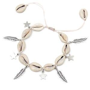 Biżuteria powlekana obrączki dla kobiet akcesoria do stóp letnia plaża boso sandały bransoletka kostki na nodze kobiece kostki pasek