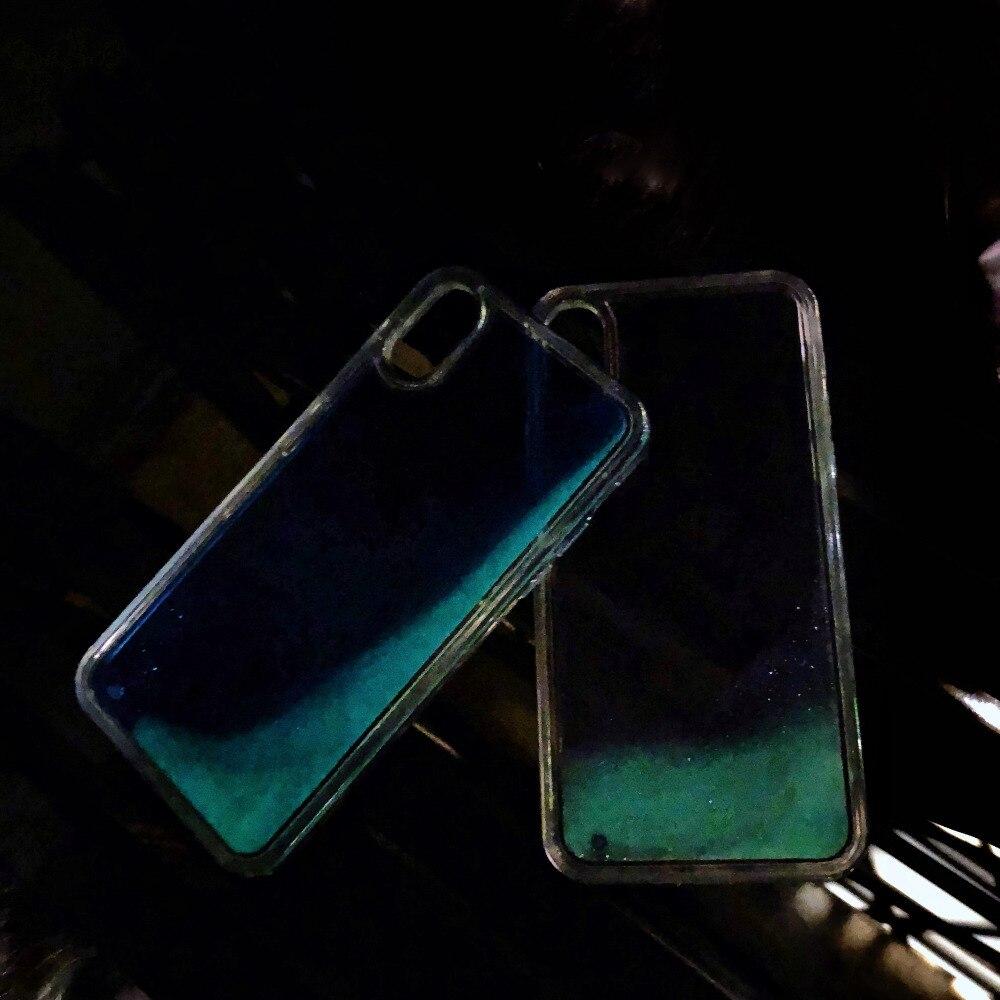 90936c2b83 Bling Liquid Quicksand Cases For IPhone 6 6 S P Case Glowing Coque
