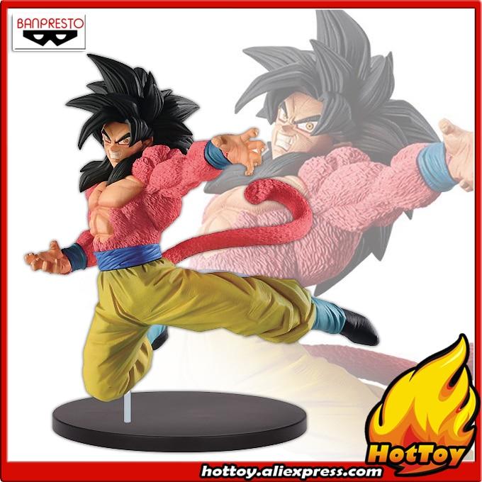 "100% Original Banpresto Son Gokou FES !! vol.6 Collection Figure – Super Saiyan 4 Son Goku from ""Dragon Ball Super"""