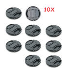 10PCS 67mm Lens Cap center pinch snap on Front Cover string for Nikon Sony Canon Lens Cap lens Protector