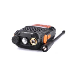 Image 2 - 2pcs Baofeng UV 6R Two Way Radio Scanner 7w VHF UHF Dual Band Portable Walkie Talkie Ham Radio Hf Transceiver Handy Radio Amador