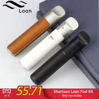 Electronic Cigarettes Shanlaan Laan Pod Mod 1300mAh 40W Starter Kit 2ml Capacity Cartridge All In One Vape Vaporizer
