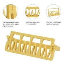 Dental Holder Disinfection Rack Measuring Instrument Holder Dentist Tools Dental Endo Root Canal File Holder 8 Holes Plastic
