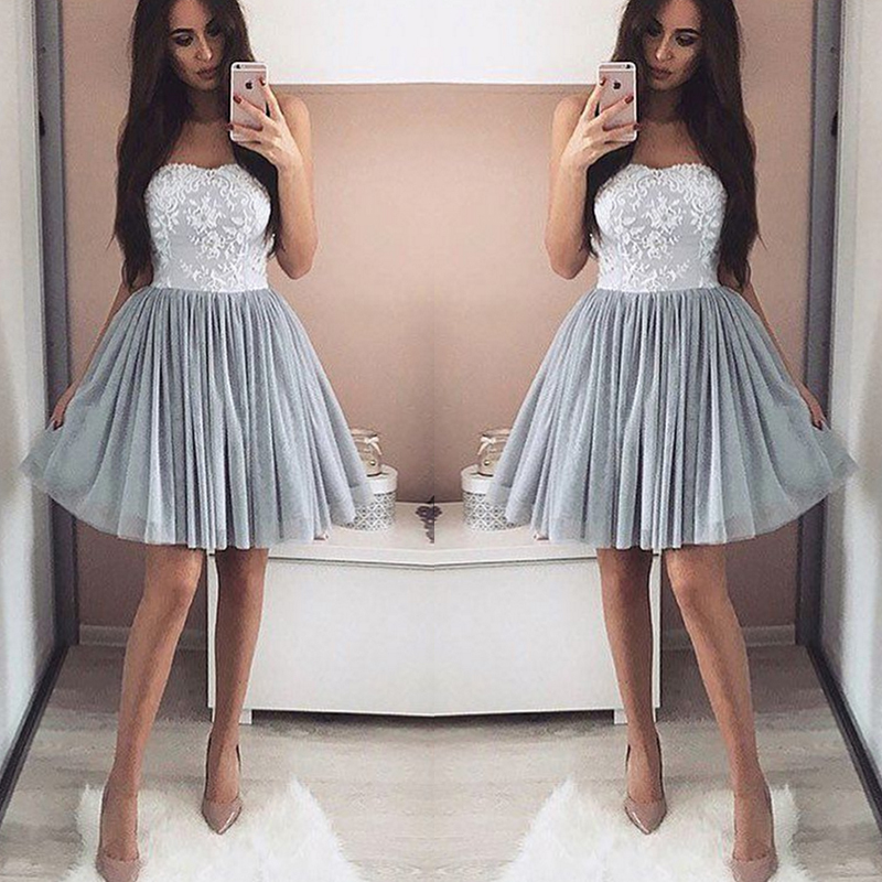Sexy Sweetheart Short   Bridesmaid     dresses   2018 Simple Lace   bridesmaid     dress   Robe demoiselle Prom   Dress   Party Gowns Custom Made