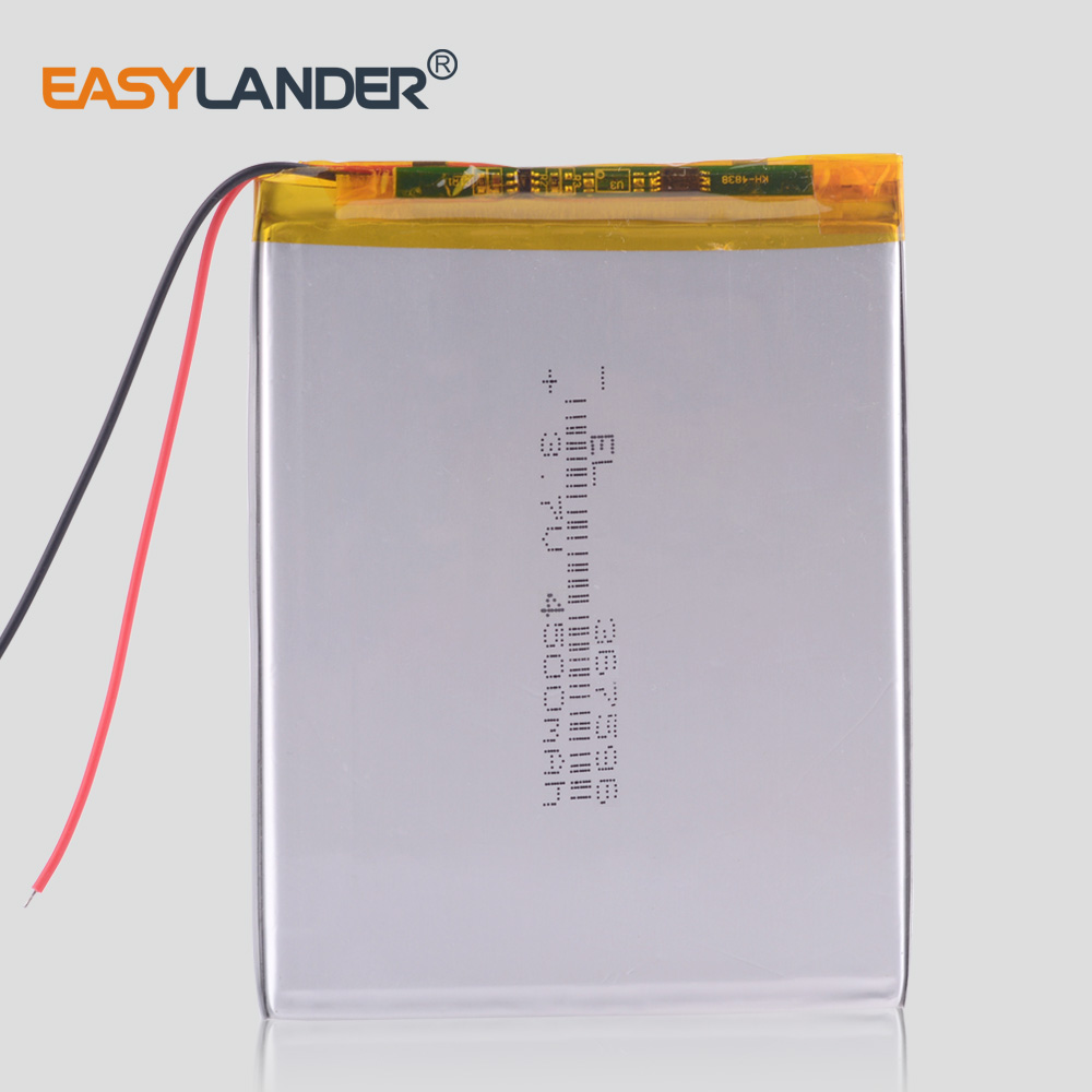 Tablet Pc  3.7V 4500mAH (polymer Lithium Ion Rechargeable Batteries) For 7 Inch 8 Inch 9inch 367596 M74CG Supra Tablet Pc