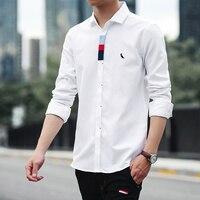 Dudalina 2017 Fashion Brand Casual Men Shirt Male Good Quality Shirts Men S Long Sleeve Embroidery