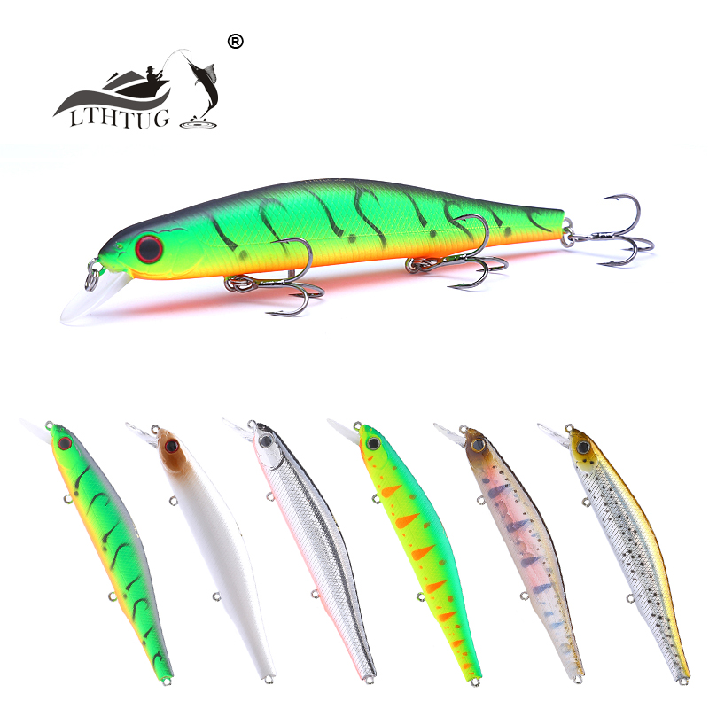 LTHTUG Brand Japan Design ORBIT 110mm 17g Floating Minnow Hard Fishing Lure Wobbler Pesca Isca Artificial Bait Pike Bass Perch