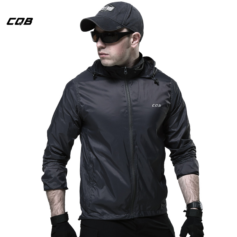 Jacket Men Cqb Hiking Jackets Skin Thin Breathable Summer Quickly-dry Trekking Trench Coat Outdoor Clothing Csy0535